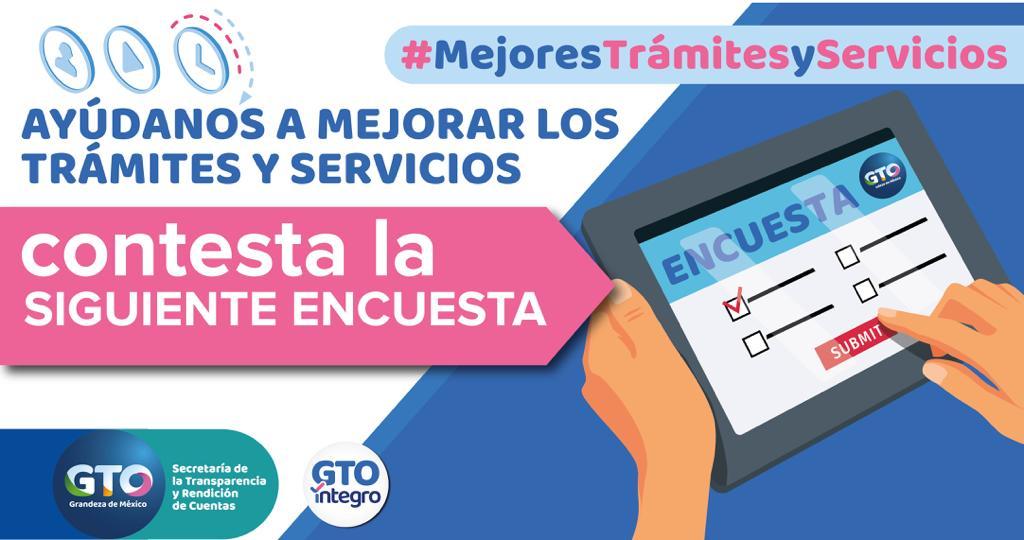 ENCUESTA TRAMITES Y SERVICIOS
